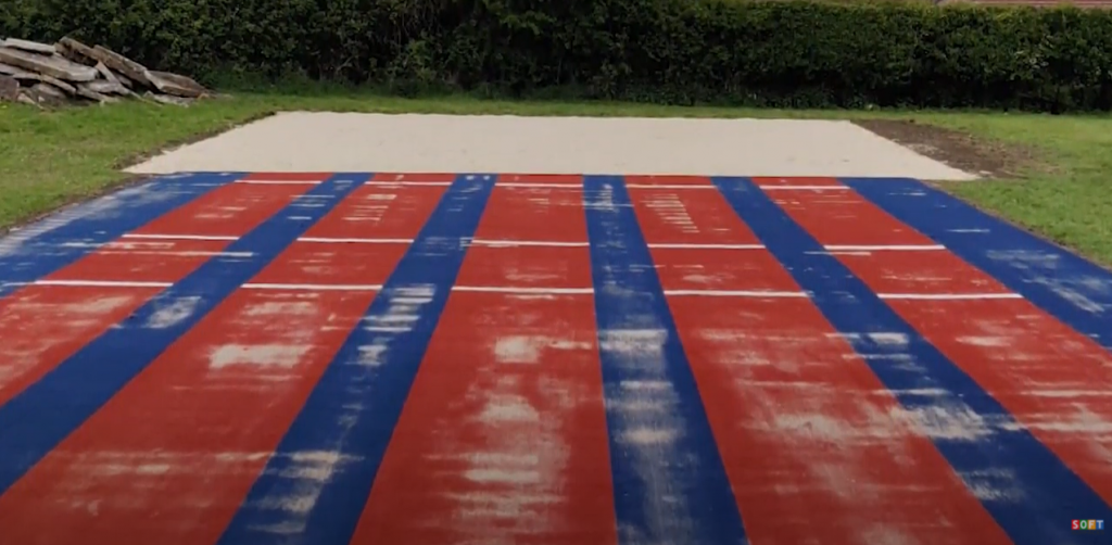 Multisport Synthetic Long Jump Installation in Oxford