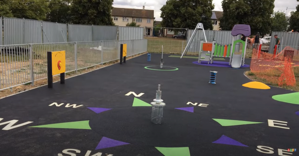 EPDM Rubber Play Area Flooring in Luton, Bedfordshire