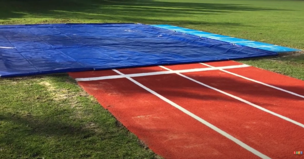 Multisport Long Jump with practice Lane Install in Leicester
