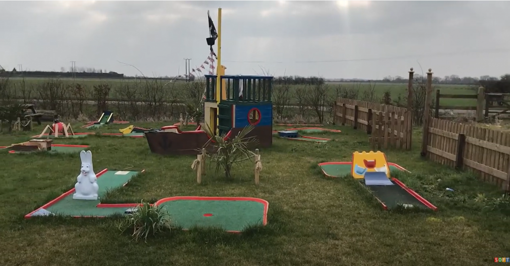 Wetpour Mini Golf Course Installation in Market Deeping, Lincolnshire