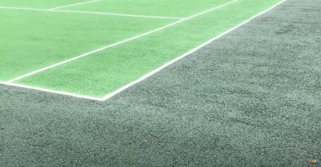 Tennis Court Clean & Paint Maintenance in York